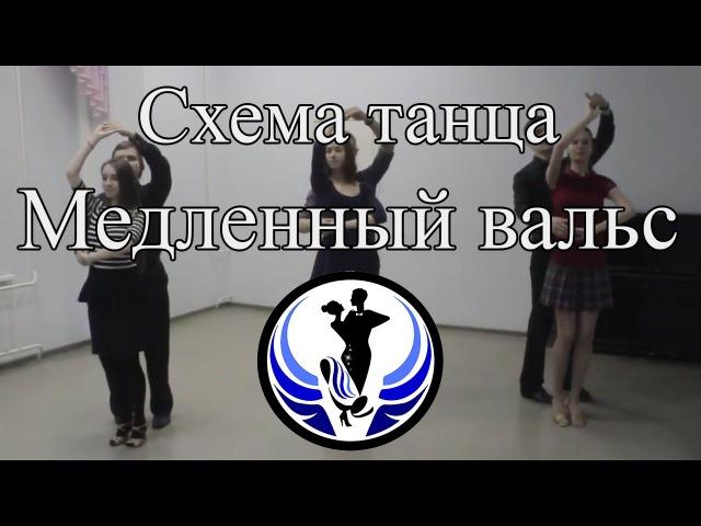Медленный вальс - схема танца