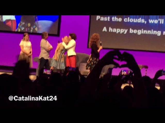 Rebecca Mader ,Lana Parilla, Emillie de Ravin, Robert Carlyle - The Happy Ending Con,Paris