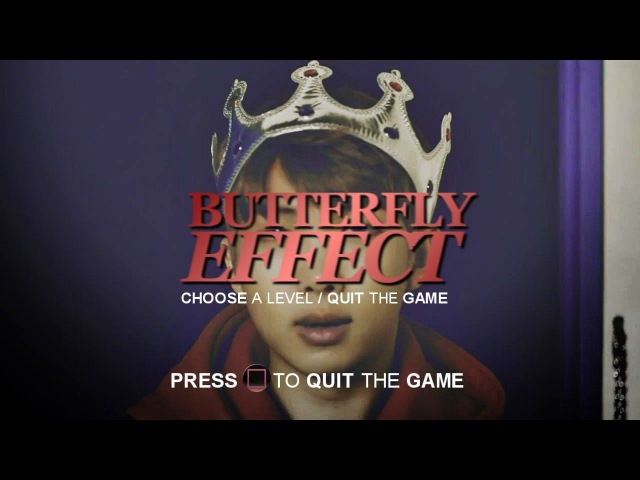 NAMJOON - BUTTERFLY EFFECT 6「Game au」
