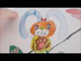 Мои рисунки,из видео на ютубе