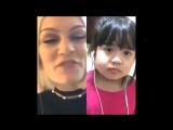 Jessie J karaoke Flashlight Smule  AMAZING CUTE LITTLE GIRL SINGING! (Cover)