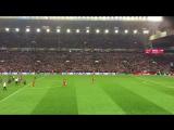 Liverpool 4:3 Borussia Dortmund - Full-time Youll Never Walk Alone