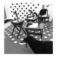 Bill Kaulitz Instagram - 18.02.2017 -  Berlin gallery Dixit Algorizmi