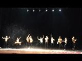 Шоу под дождём от петербургского театра танца «Искушение»