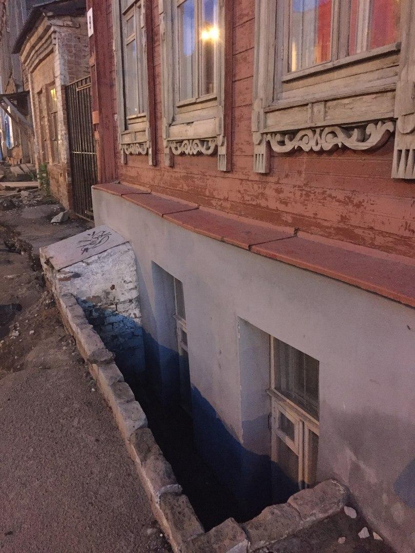 Здания, занесенные грунтом. Часть 17