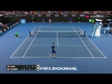 ЧУВСТВО МЯЧА ФАБИО (Fognini-Paire hot shot at Australian Open 2017)