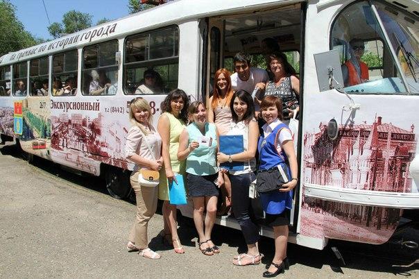 В Волгограде начинает работу уникальный экскурсионный трамвай.   Волго