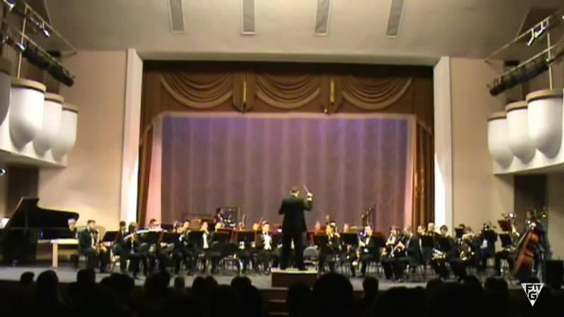 Концертный оркестр духовых инструментов им.В.Еждика Тема из фильма Терминатор