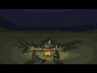 Stalkers around Campfire