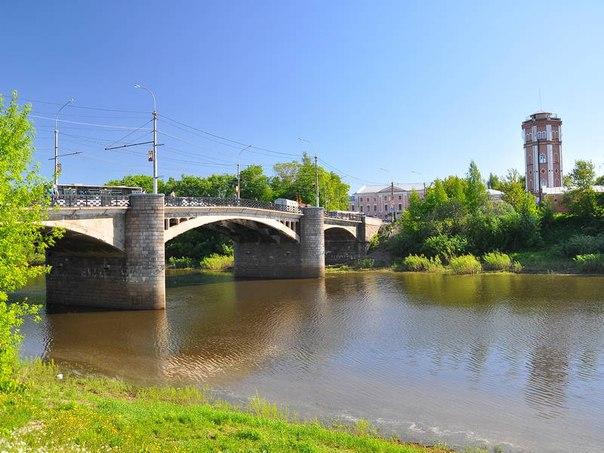 С добрым утром, чудесная Вологда!  Октябрьский мост