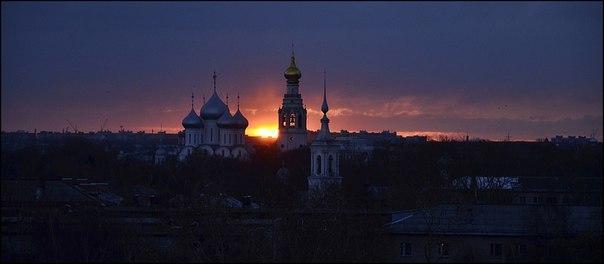 Прекрасного вечера, Вологда!   Фото: Корякин Борис
