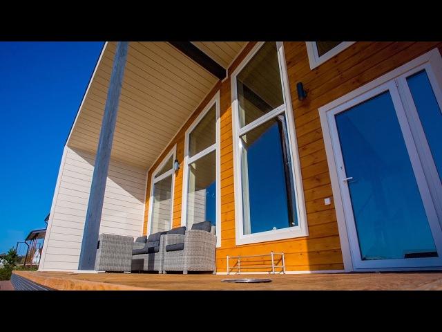 Скандинавский коттедж в Солнечном : Купить дом в Ленинградской области