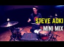Steve Aoki - Mini Mix | Matt McGuire Drum Cover