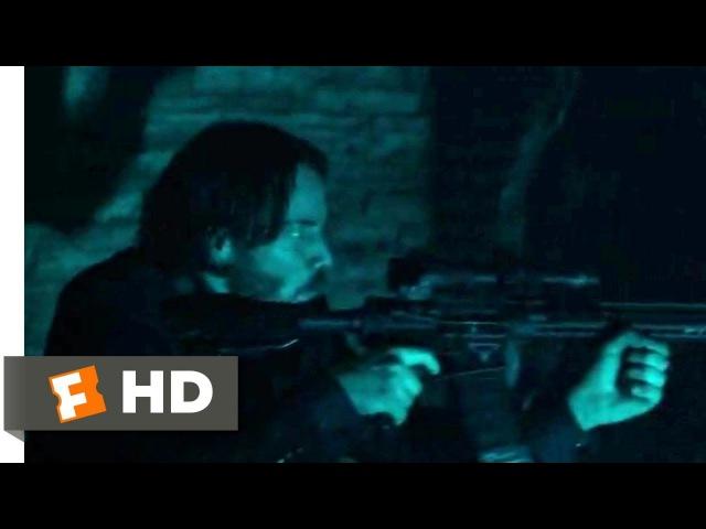John Wick Chapter 2 (2017) - Catacombs Shootout Scene (410) | Movieclips