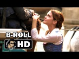 BEAUTY AND THE BEAST B-Roll Bloopers Footage #1 (2016) Emma Watson Disney Movie HD