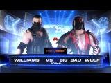 SBW SmackDown - Big Bad Wolf vs Williams Strong Brawl matchName vs Career