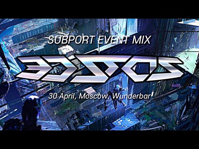 3D Stas - Subport Event Mix, Moscow, Wunderbar - 30 April 2016