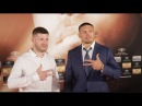 OLEXANDER USYK v MARCO HUCK - WORLD BOXING SUPER SERIES OFFICIAL FIGHTERS TEAMS GRAND ARRIVAL