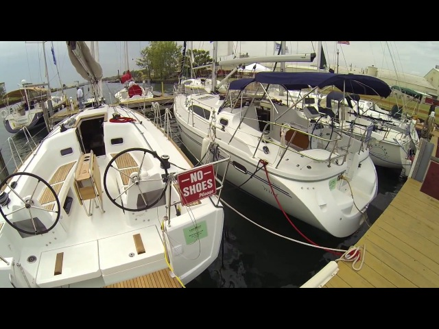 Парусные яхты какая лучше Beneteau Catalina Marlow Hunter Jeanneau 31 35 37 40 41 45 DS 50 ft Обзор