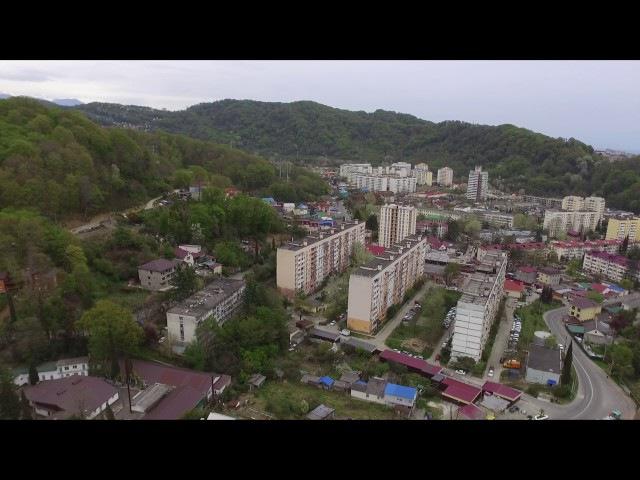 Обзор района Кудепста в Сочи || Кудепста с квадрокоптера