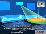 Мицубиси Электрик с I See sensor Датчик объемного температурного сканирования