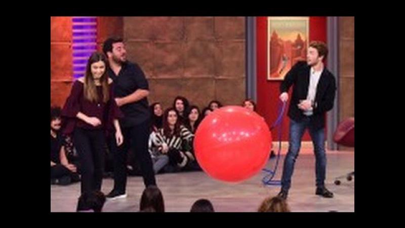 Balon Kimin Elinde Patlayacak Tolga Sarıtaş mı, Afra Saraçoğlu mu | 3 Adam