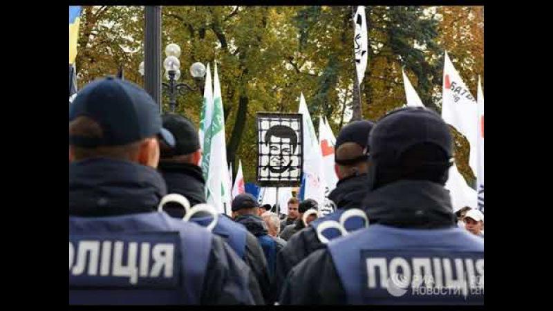 Порошенко обвинил организаторов митинга в Киеве в жажде крови