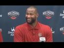DeMarcus Cousins Omri Casspi - Full Introductory Press Conference - Pelicans   2016-17 NBA Season
