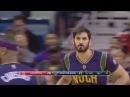 Omri Casspi's First Basket as a Pelican   Rockets vs Pelicans   Feb 23, 2017   2016-17 NBA Season