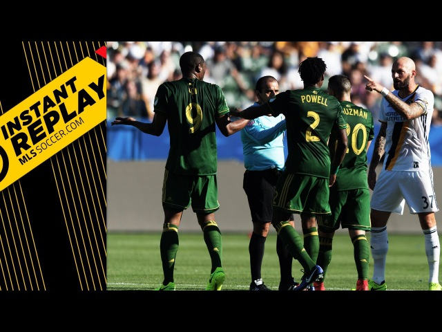 Van Damme's red, Seattle's disallowed goal and DOGSO in SJ | INSTANT REPLAY