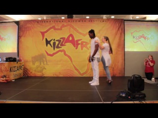 UrbanKiz workshop by JoJo and Mikaela at Kizzafro 2017