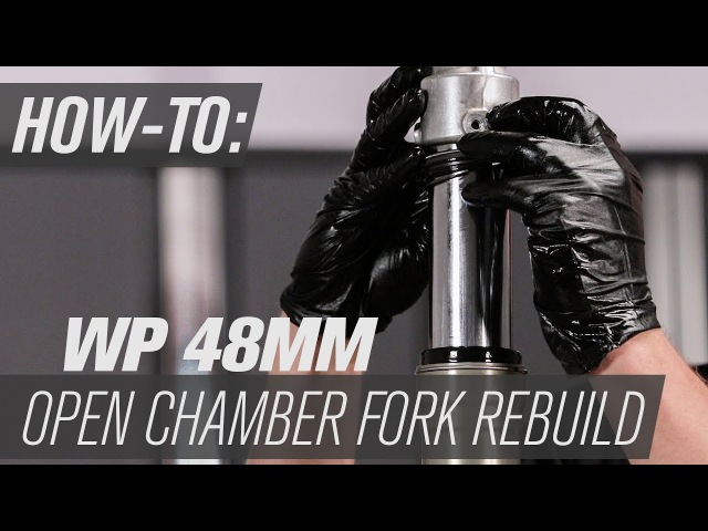 How To Rebuild Fork Seals On WP 48MM Open Chamber Forks