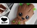 Svk/lakomkavk Baby Groot Cake Guardians of the Galaxy Vol. 2 Marvel Party Ideas DIY How To