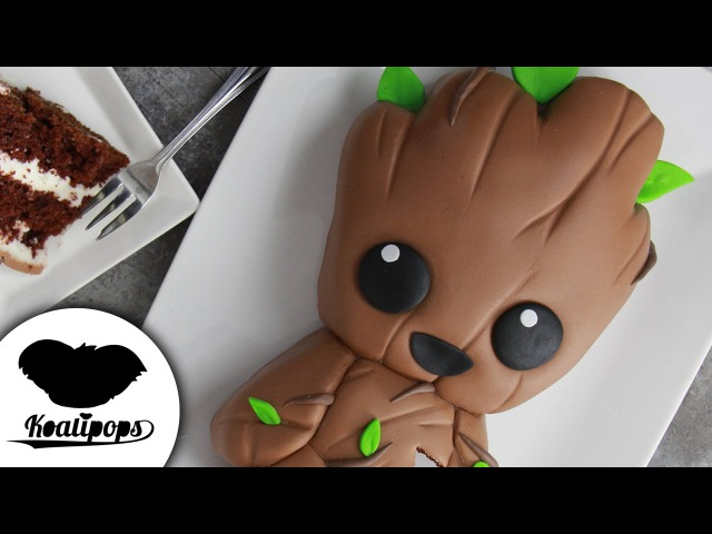 Lakomkavk Baby Groot Cake Guardians of the Galaxy Vol 2 Marvel Party Ideas DIY How To