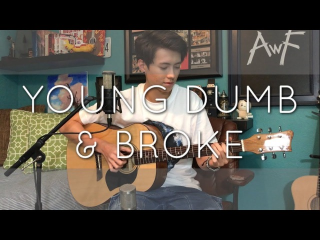 Khalid Young Dumb Broke Cover Vocal Fingerstyle