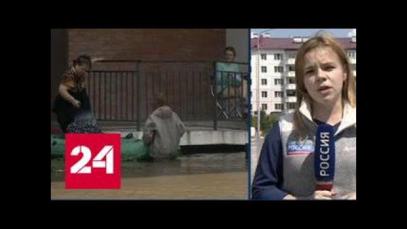 Многоэтажки посреди озера: в Приморье за ночь выпала месячная норма осадков