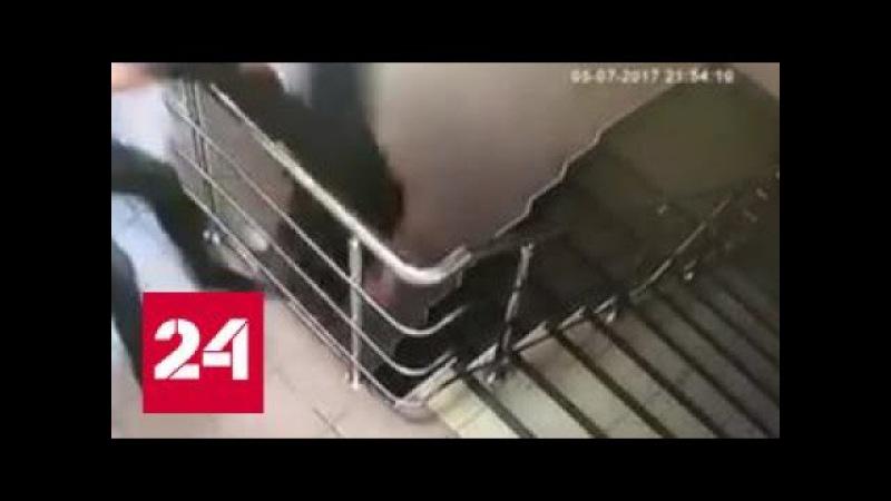 Заключенный совершил побег в наручниках и вниз головой
