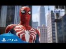 Человек паук | Геймплейный трейлер игры эксклюзив для PS4 | 2018