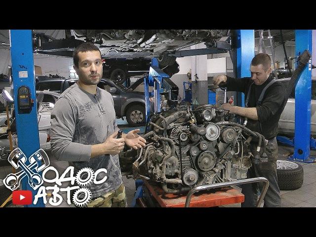Porsche Carrera часть 2-я демонтаж мотора.