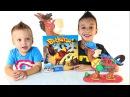 Лошадка Букару игры для детей распаковка Family Fan Game Night Buckaroo Elefun Friends