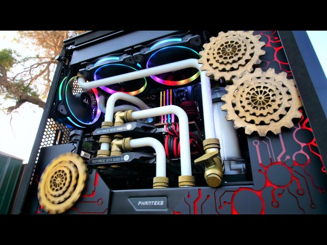PROJECT COGNITION Time Lapse - Ultimate Custom Gaming PC Build (Client Build)
