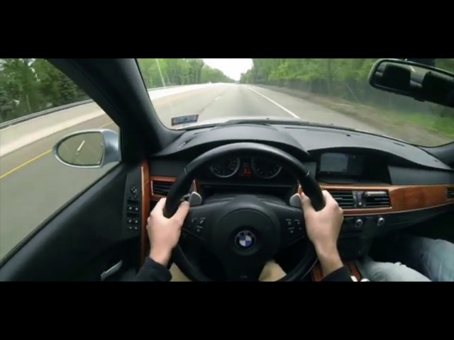 BMW M5 E60 Pov Acceleration Sounds And Downshifts