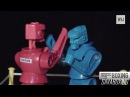 Saul Canelo Alvarez vs. Gennady GGG Golovkin - Playing Robots! Full Fight!