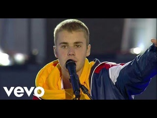 Justin Bieber - Love Yourself & Cold Water ( Live One Love Manchester ) 2017