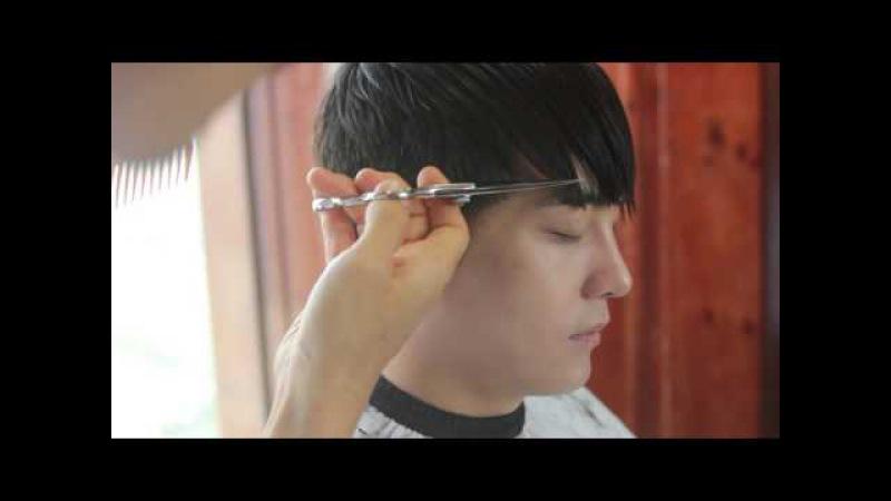여진구 따라잡기!!(댄디한 남자 숏헤어 스타일) / Dandy Man Short Hairstyle ManHair BarBering