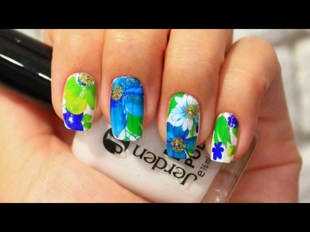 ◄ Слайдер - дизайн для ногтей ► Nail Art ◄ Водные наклейки ►