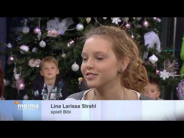 Bibi und tina MJF LinaLarissaStrahl_Lisa-MarieKoroll004 (ZDF-Morgenmagazin 23.12.2014)