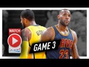 LeBron James vs Paul George Game 3 Duel Highlights (2017 Playoffs) Pacers vs Cavaliers - EPIC!