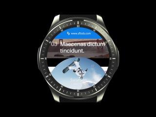 LEMFO LF16 smart watch