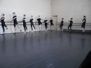 Станок. Зачет по танцу II семестр 1 курс ЕГТИ мастерская А.В. Блиновой